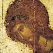 Иконостас Благовещенского собора Московского кремля. Архангел Гавриил. Деталь. 1405. Феофан Грек.jpg
